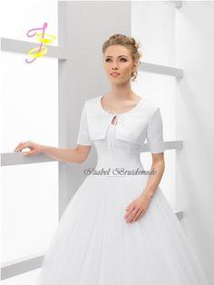 Bruids bolero satijn ABS27/Bridal bolero satin ABS27
