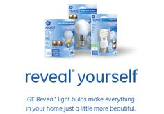 GE Reveal light bulbs #GElighting