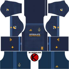 42a47ba53 Get the LA Galaxy (Los Angeles Galaxy) kits seasons 2018 for your dream  team in Dream League Soccer 2018 and Based in the Los Angeles suburb of  Carson