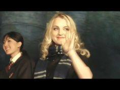 USJ「ハリー・ポッター」テーマパークオープン日発表記念式典 (7 / 7) - YouTube