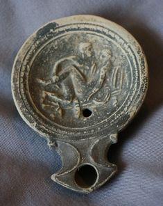 Ancient Romans, Ancient Art, Art Of Love, Roman History, Ancient Civilizations, Oil Lamps, Islamic, Personalized Items, Antiques