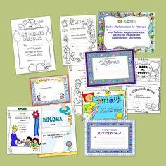 Recursos para el aula: Diplomas para premiar a los niños