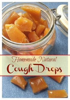 Make your own cough drops to soothe coughs. The Homesteading Hippy #homesteadhippy #fromthefarm #diy