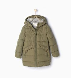 Quilted coat with hood-View all-Coats-Girl-Kids | 4-14 years-KIDS | ZARA United States