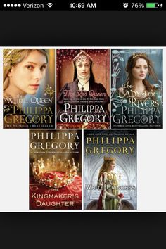 The Cousins War Series - Philippa Gregory. to grade students. Tells us about the Yorks, Lancasters, and Tudors in a realistic fictional way. Captivating and entrancing. Students with an interest in Tudor history will love this series! I Love Books, Great Books, Books To Read, The White Princess, White Queen, Philippa Gregory, Historical Fiction Books, Reading Rainbow, Book Authors