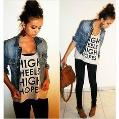 high heels..high HOPE! Love it