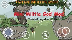 Mini Militia God Mod is a popular mod of Doodle Army 2: Mini Militia. In Mini Militia God Mod you will get access to all that superpowers.