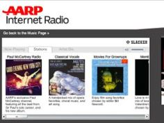 AARP offers free online music streaming of songs we love that's easy to use