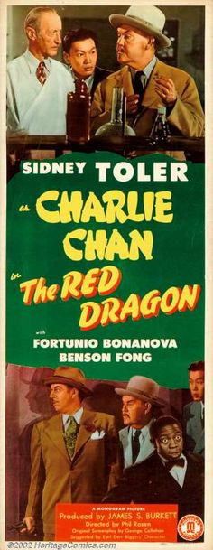 Charlie Chan - The Red Dragon (1945) - Charlie Chan and a host of suspects are close at hand for three murders