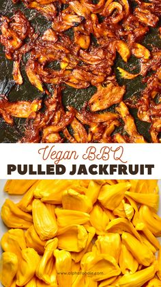 Delicious homemade BBQ jackfruit recipe using fresh jackfruit (not canned). A delightful vegan bbq recipe for a pulled jackfruit 'pulled pork', to add to a variety of different meat-free dishes.