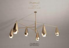 Popigai chandelier - Designer Monzer Hammoud - Pont des Arts Studio- Paris