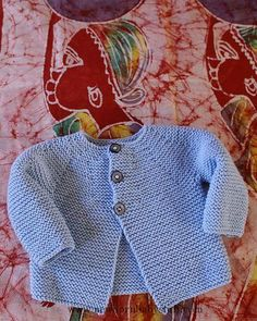 Free knitting pattern for easy garter stitch baby cardi and hat baby knitting patterns simple and beautiful pattern dt1010fo