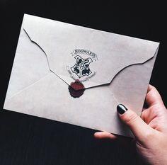 Hogwarts Letter. #harrypotter