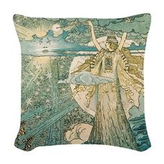 Enchantment Woven Throw Pillow on CafePress.com