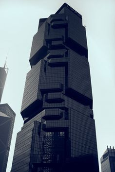 Hong Kong - I saw this building. Amazing