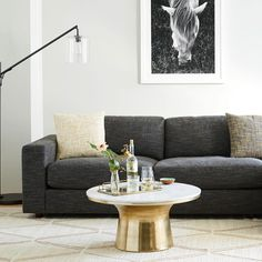 What's the secret to creating a great space? Comfort. Snap by West Elm. #MintedArt by Monica Janes. Create a comfortable living space in your home with beautiful pieces from #Minted.