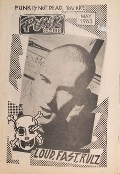 """zombiesenelghetto: """"Minor Threat: Ian MacKaye on the cover of Punk Globe Zine, May 1983 """" Tumblr Names, Minor Threat, Carl Zeiss Jena, Punks Not Dead, 80s Design, Shark Week, Film Music Books, New Wave, Music Bands"""