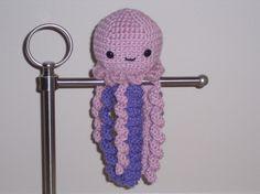 Iris the Jelly Fish  Amigurumi by purplefrogger13 on Etsy, $12.00