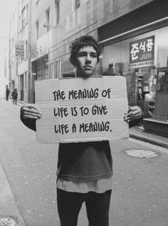 Meaning of life http://www.facebook.com/feelingandloving
