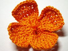 Ravelry: California Poppy Crochet Flower Pattern pattern by Camelia Shanahan