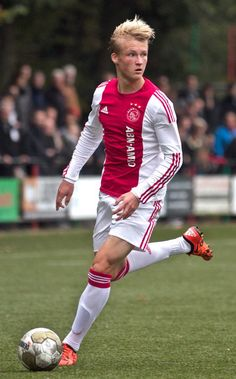 Kasper Dolberg of Ajax.