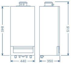 Poza Centrala termica Buderus Logamax Plus GB172IK – 24 kW alb. Poza 14989 Case, Diagram, Floor Plans, Floor Plan Drawing, House Floor Plans