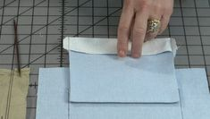 """Threads Contributing Editor Louise Cutting reveals a special marking method for pocket placement in this tutorial video from """"Industry Insider Techniques,"""" Vol. Sewing Hacks, Sewing Tutorials, Sewing Crafts, Sewing Patterns, Sewing Tips, Sewing Projects, Line Design Pattern, Washi Dress, Zipper Crafts"""