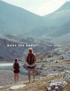 Move the body. Still the mind. The peaceful adventurer. #REVISITProducts #goexplore