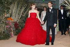 Beatrice Borromeo e Pierre Casiraghi incantano al Ballo della Rosa - VanityFair.it