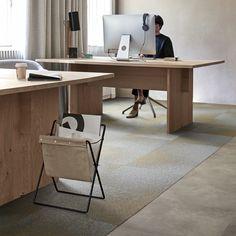 Interfacen tekstiililaatoissa sisustuksellisuus kohtaa käytännöllisyyden│Laattapiste Waiting Area, Contemporary, Modern, Offices, Office Desk, Corner Desk, Minimalist, Loft, Lounge