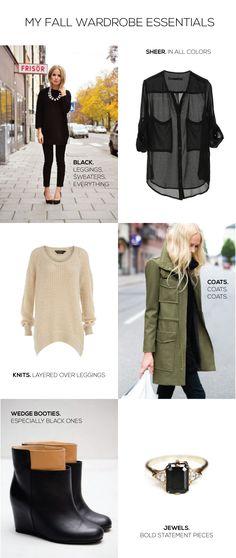 My Style // Fall Wardrobe Essentials « Design Me Daily Blog