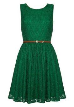 Cocktailkleid / festliches Kleid - green