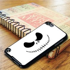 Nightmare Before Christmas Jack Skellington Face iPod 5 Touch Case