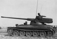 AMX-13 75 - prototype during tests