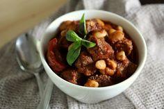 Fasoulia Nashfe: Lamb and White Bean Stew