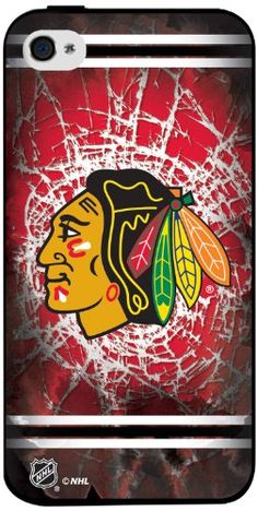 NHL Chicago Blackhawks Iphone 4 or 4s Hard Cover Case - New from Keyscape and Pangea Brands, comes the new hard shell case for the IPhone 4 or 4S. This case is made in the USA, the only case that allows art to be added. Product Features  Hard shell c