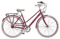 Dámské retro kolo Cossack Alicje, vínové Retro, Bicycle, Vehicles, Bike, Bicycle Kick, Bicycles, Car, Retro Illustration, Vehicle
