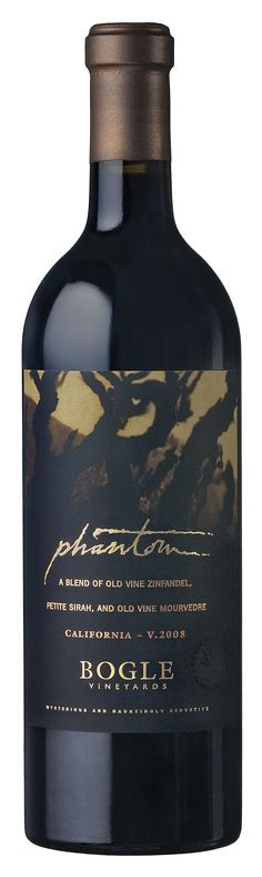 Bogle Phantom red wine - limited relaease. Made from Zinfandel, Petite Sirah and Mourvedre, flavor profile is luscious and intense..... Simply, Yummy!