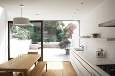 AFTER: Hackett-Holland Notting Hill kitchen extension | Remodelista