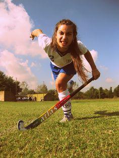 Melina, Hockey match, Buenos Aires