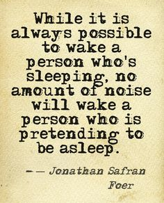 jonathan safran foer - I think this is a deeper thought than it seems.