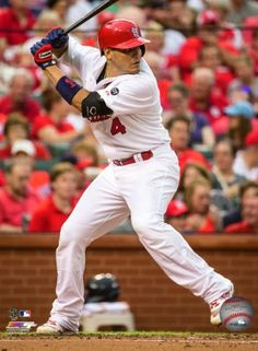 Matt Holliday 2014 Action Photo Print x Yadier Molina, St Louis Cardinals, Sports Photos, Vivid Colors, All In One, Baseball Cards, Action, Shopping, Carpenter