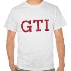 Volkswagen Golf GTI badge red  #volkswagen #golf #rabbit #volkswagengolf #golfgti #gti #tshirt #automobile