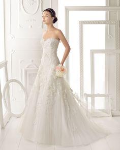Aire Barcelona wedding dress 2014 Bridal Ozor