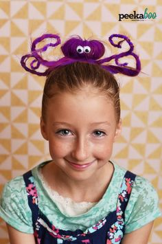 octopus crazy hair day