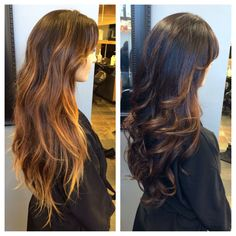No more brassy hair! Brown hair. Caramel highlights. Contact me for an appointment (818)261-0866