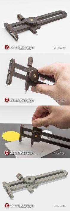 Circle Cutter, DIY, Pertinax, FR-4, CNC,