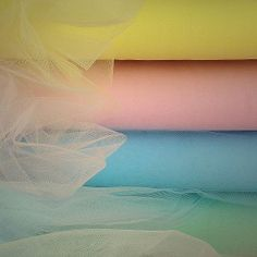 Tulle Fabric in Bolts - Several Tulle Colors from Pastels, to Brights, to Popular Wedding Colors - These 40 Yard Tulle Bolts are Great for Wedding Drapery, Crafts, Tutus and More. Sewing Tutorials, Sewing Hacks, Sewing Crafts, Sewing Projects, Sewing Patterns, Sewing Tips, Sewing Ideas, Techniques Couture, Sewing Techniques
