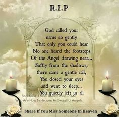I never thought I would lose the both of you one after the other. I miss you Mom and Dad, xox