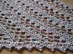 driehoekssjaal patroon